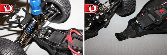 DE Racing Chassis Brace For Team Associated SC10 SC10.2 DER-CB-ASC