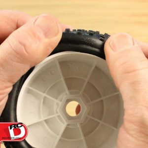 Gluing Tires with Zap Rubberized CA Glue