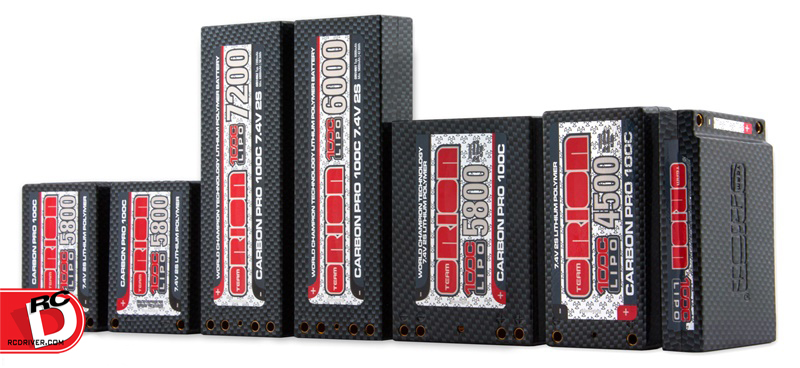 Team Orion Carbon Pro 100C LiPo Batteries