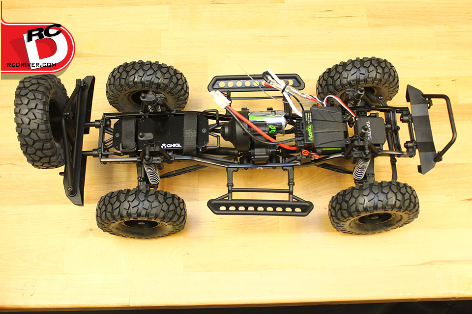 Overhead Chassis Layout