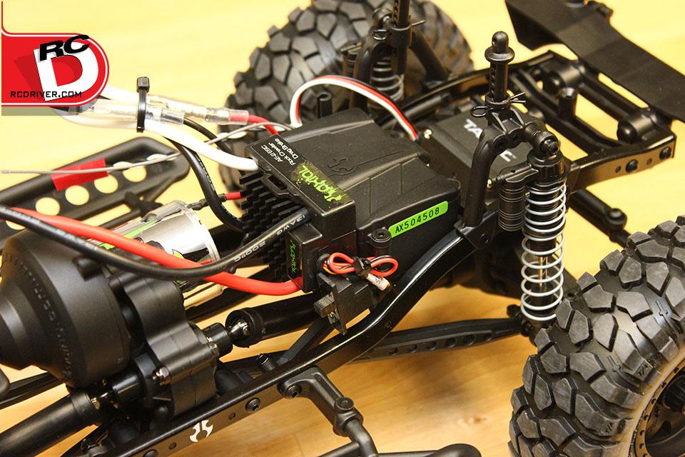 ESC and Radio Box