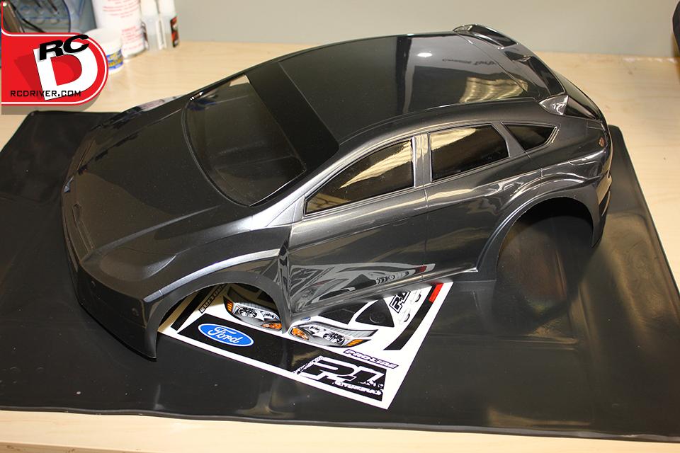 Pro-Line Fiesta Rally Body