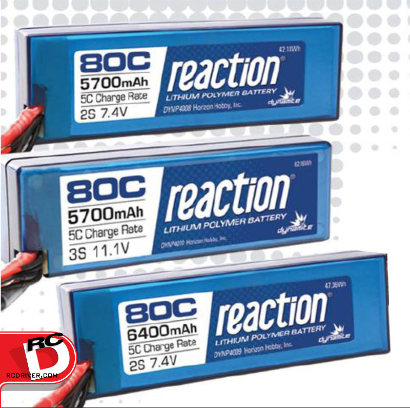 Dynamite 80C Reaction LiPo