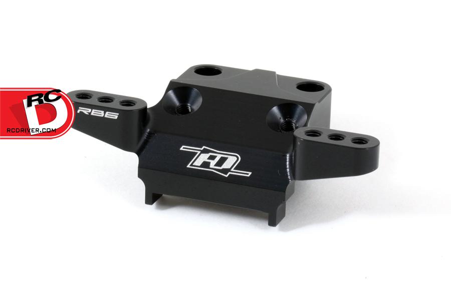 Revolution Design Racing Products - RB6 Front Bulkhead Aluminum_2 copy