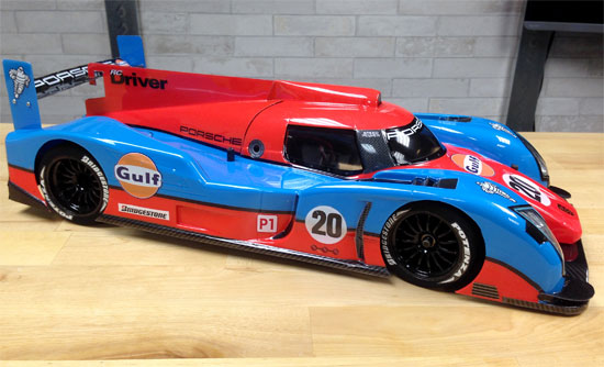 Speed Passion LM-1 LeMans Build – Electronics and Body