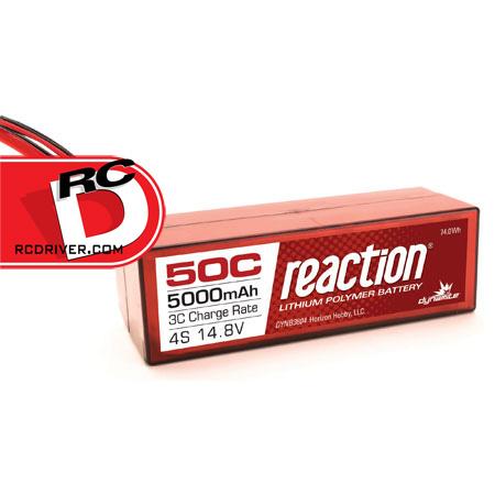 Dynamite - 50C Reaction LiPo Battery Packs_1 copy