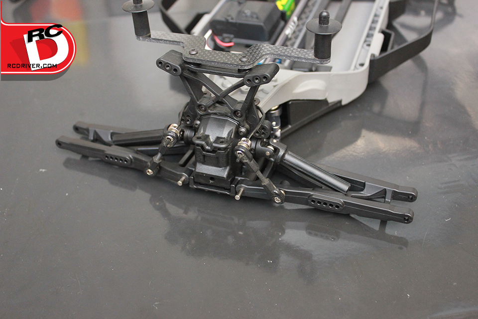Front arm assembly