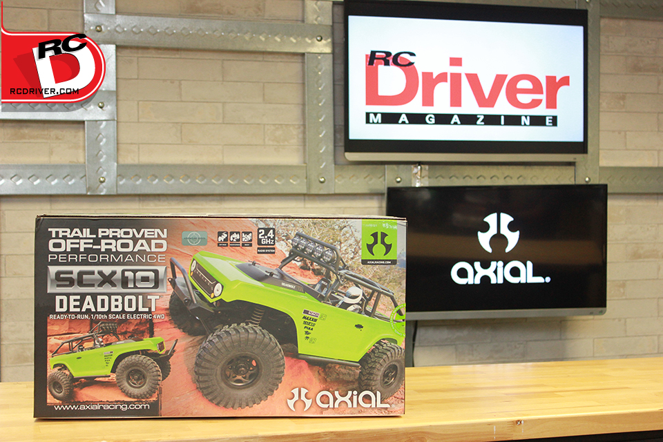 Axial SCX10 Deadbolt Box Art