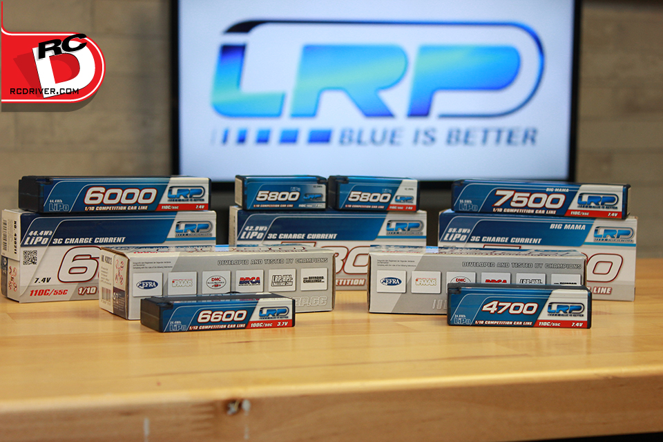 LRP Competition LiPo Packs