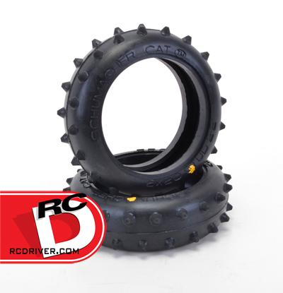 Schumacher Stud 2 Row Front Tires