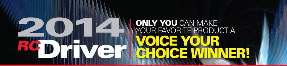 2014 RC Driver Voice Your Choice Awards