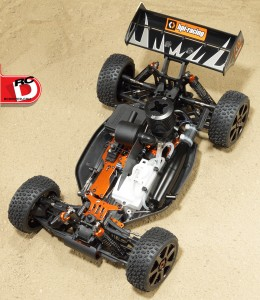 HPI trophy 3.5 KIT Buggy Chassis