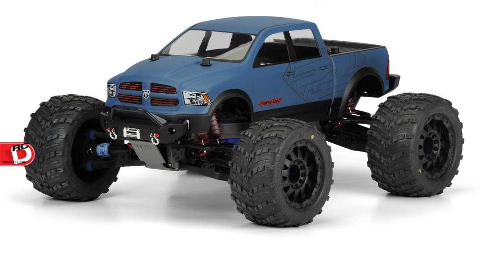 Pro-Line - RAM 1500 Clear Monster Truck Body_1 copy