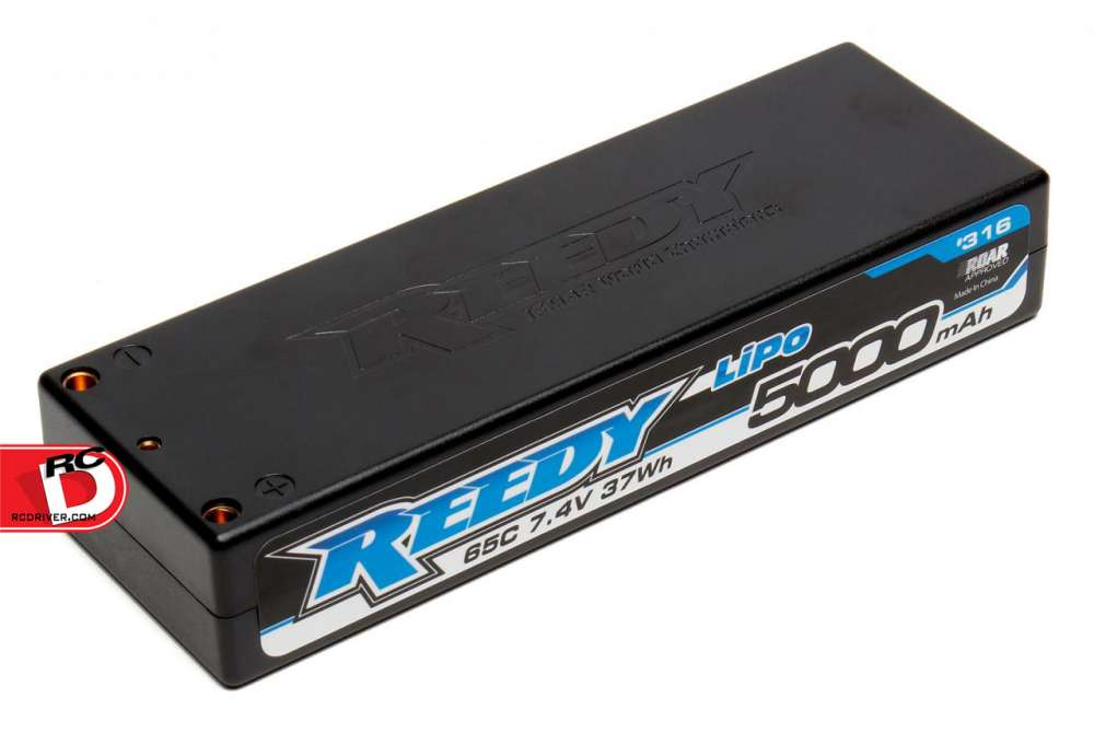Reedy 5000mAh 65C 7.4V Competition LiPo Battery