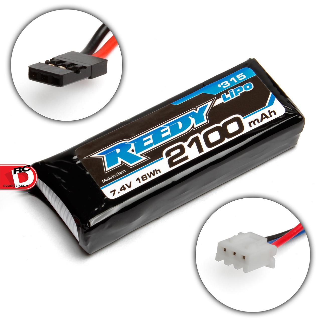 Reedy - LiPo 2100mAh 7.4V RX-TX Battery