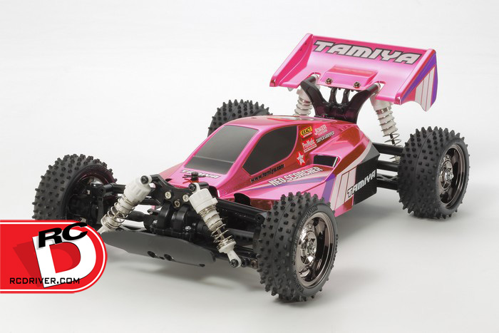 Tamiya - Bright Pink Metallic Neo Scorcher - TT02B copy