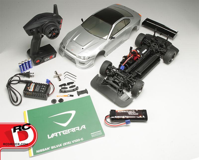 Vaterra Nissan Silvia S15 V100-C 1/10 RTR