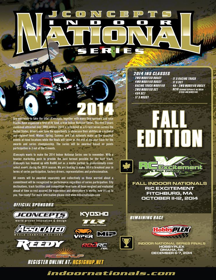JConcepts Fall Indoor Nationals at RC Excitement