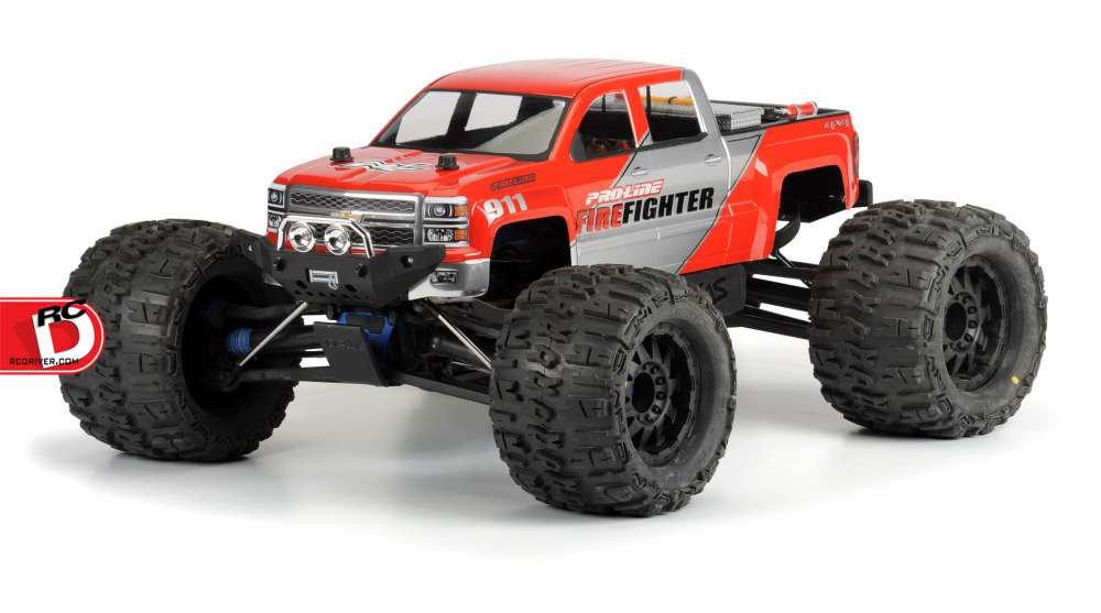 Pro-Line - 2014 Chevy Silverado Clear Body copy