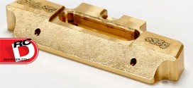 TLR Brass Mid-Motor 35g Hinge Pin Brace for 22 Series Vehicles