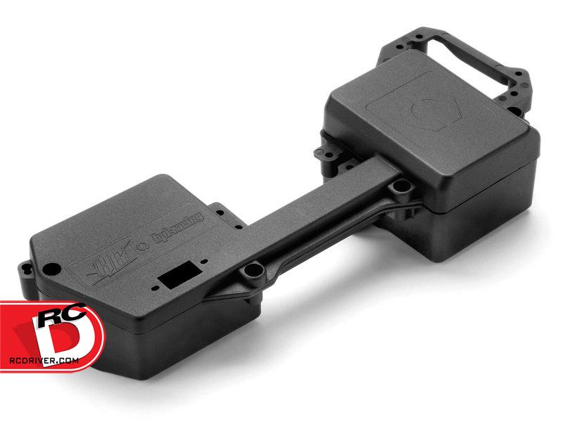 HPI Racing - V2 Radio Tray for D8 Nitro Vehicles copy