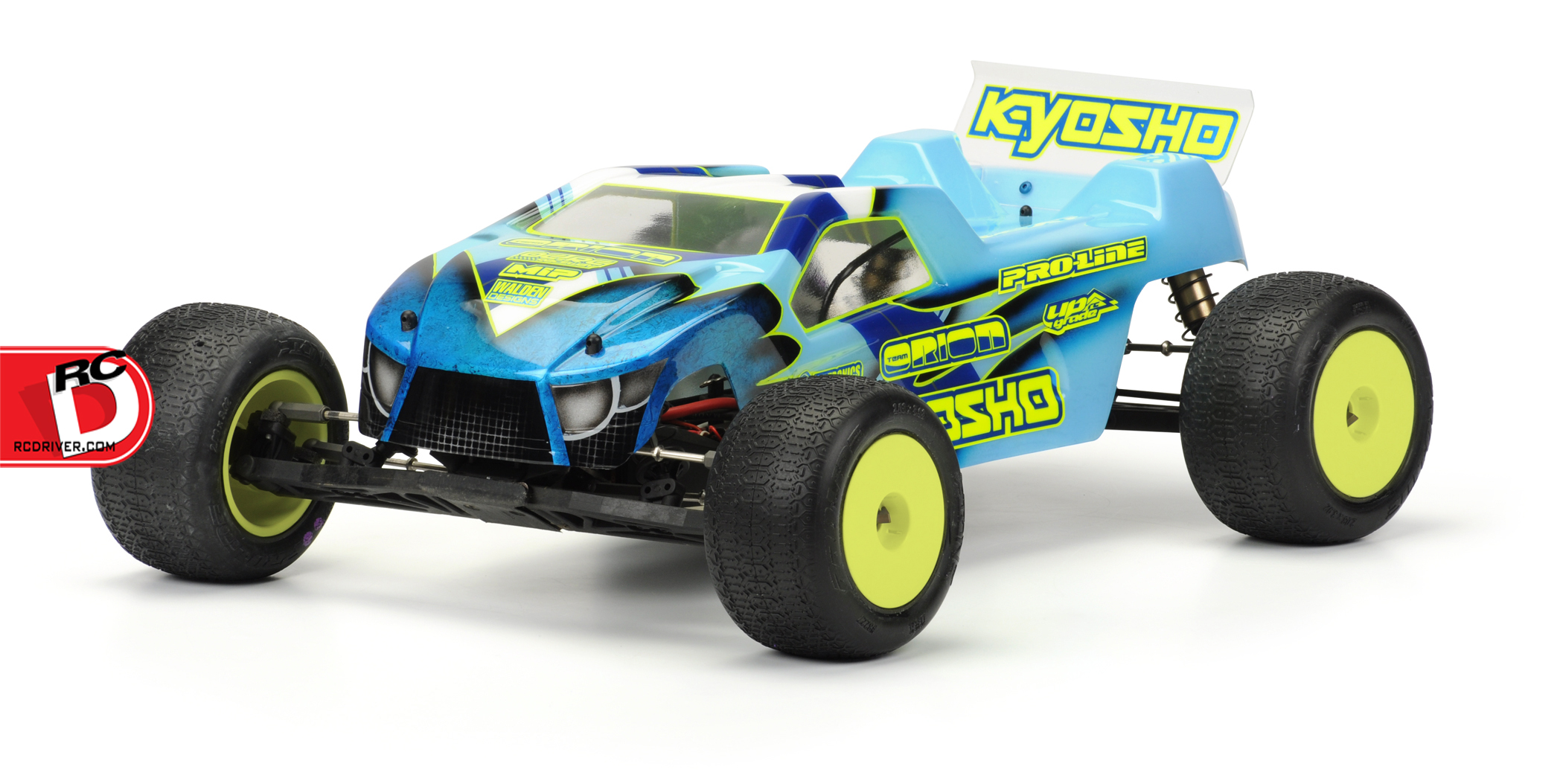 Pro Line BullDog Mid Motor Clear Stadium Truck Body copy