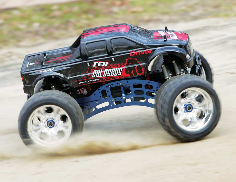 Review Cenracing Colossus Gst E Monster Truck
