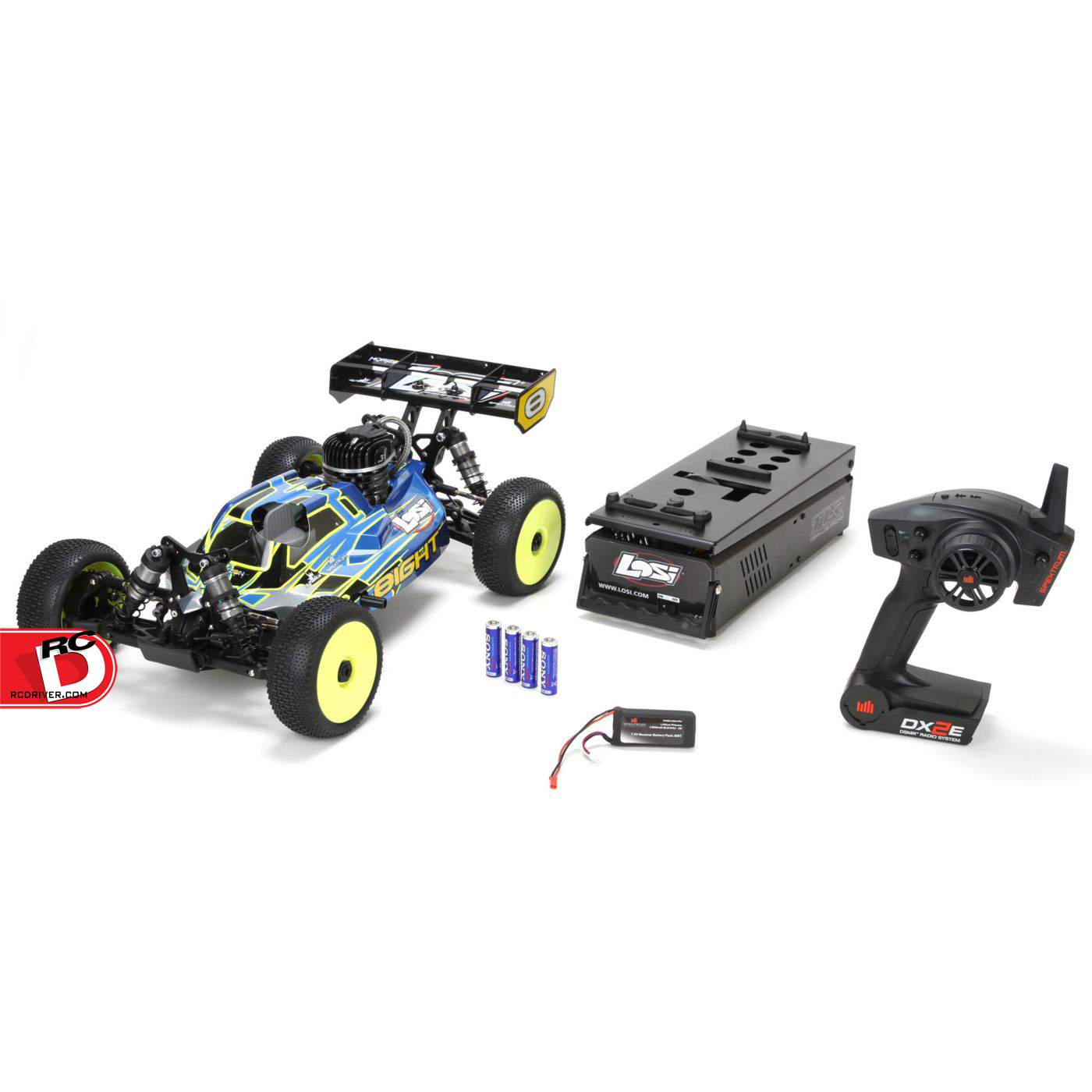 Losi 8IGHT Gas Buggy RTR with AVC 3 copy