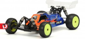 Pro-Line Pre-Cut Clear Phantom Body for the TLR 22-4