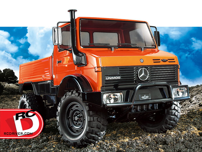 Mercedes-Benz UNIMOG 425 on CC-01 Chassis