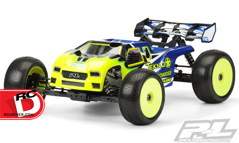 Pro-Line - Enforcer Clear Body for the Tekno NT48 copy