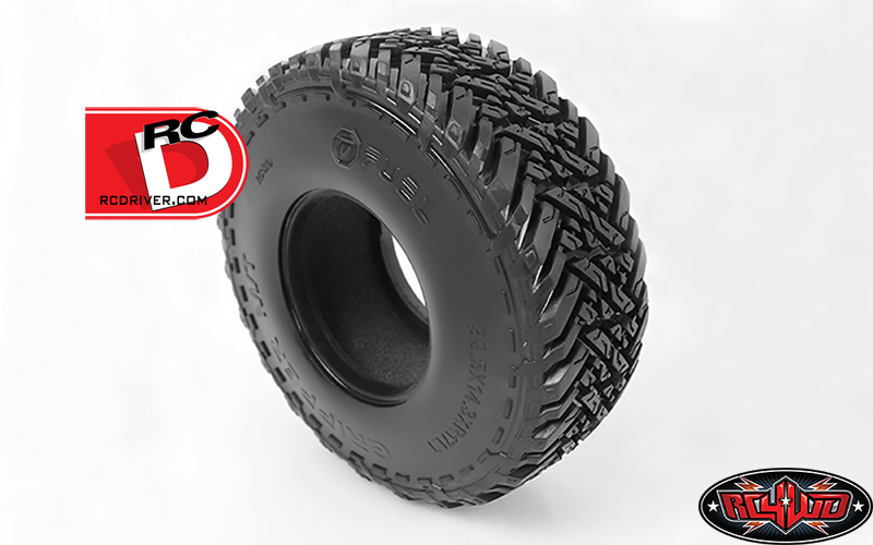 """RC4WD - Fuel Mud Gripper M-T 1.7"""" Scale Tires"""