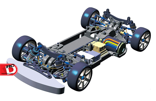 Tamiya TB-04R Chassis Kit copy
