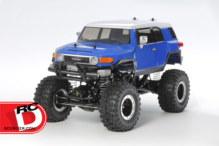 Tamiya - Toyota FJ Cruiser on CR-01 Chassis copy