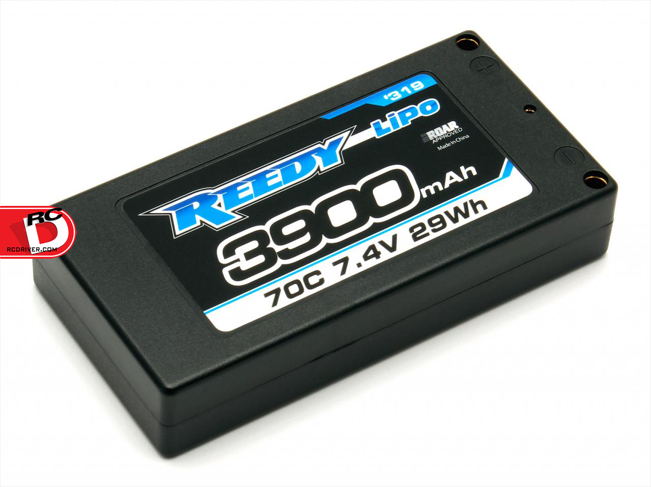Team Associated - Reedy 3900mAh 70C 7.4V LP Shorty Competition LiPo Battery