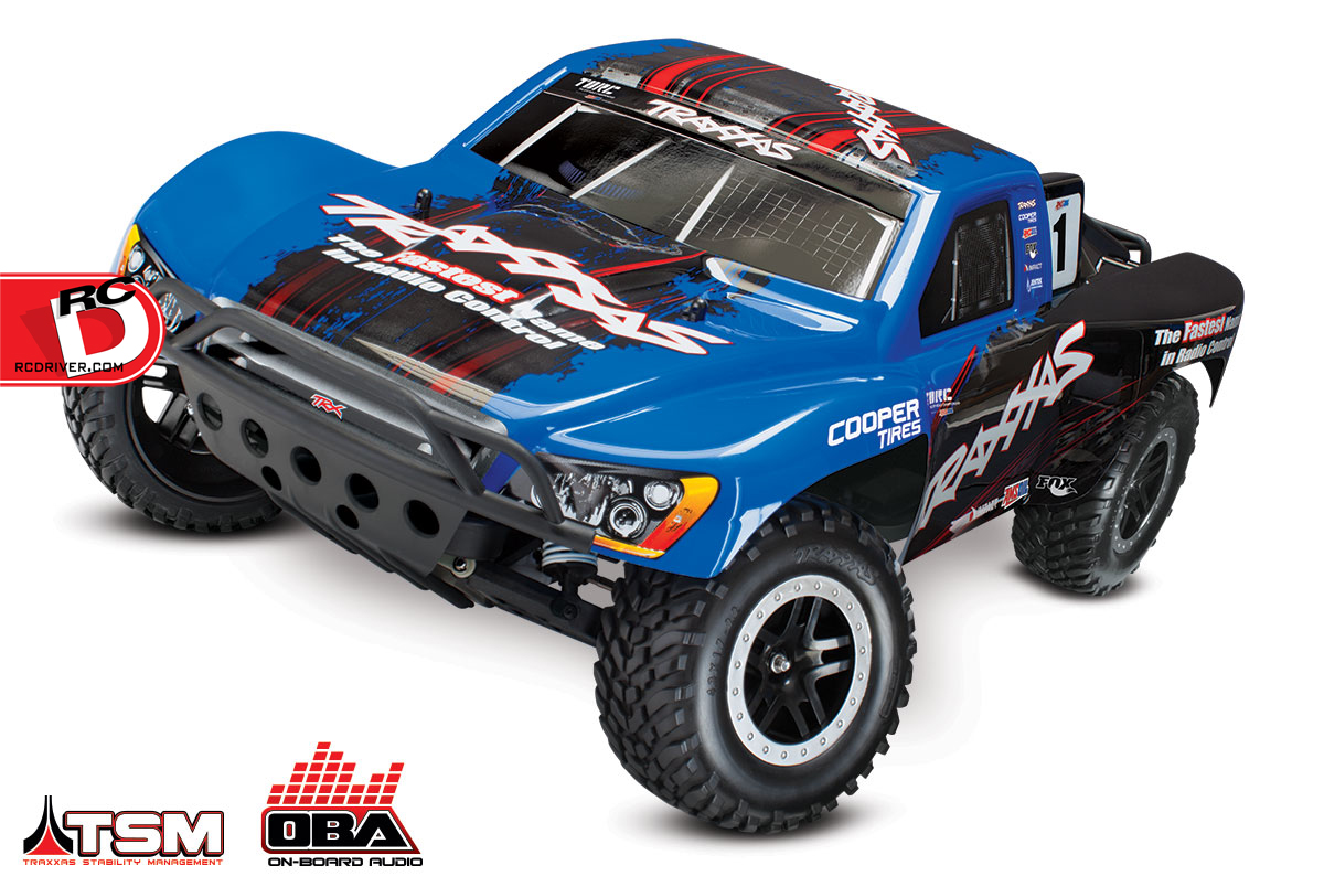 Traxxas - Slash VXL and Slash 4x4 VXL with LCG Chassis TSM and OBA_3 copy