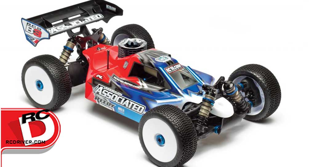 Team Associated RC8B3 1/8 Scale Nitro Buggy