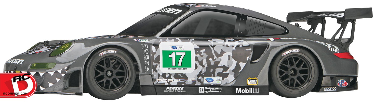 HPI Racing - RS4 Sport 3 4WD EP Flux RTR with Porsche 911 GT3R Body copy