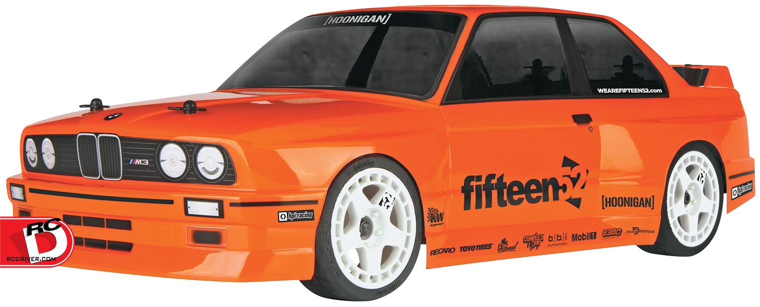 HPI Racing - RS4 Sport 3 4WD with BMW M3 E30 Body.