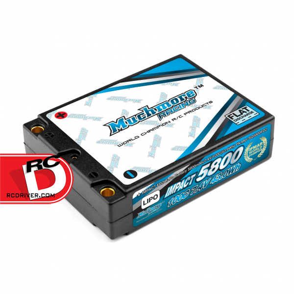 Muchmore Racing - Impact FD2 Square 5800mAh, 100C LiPo Battery Pack copy