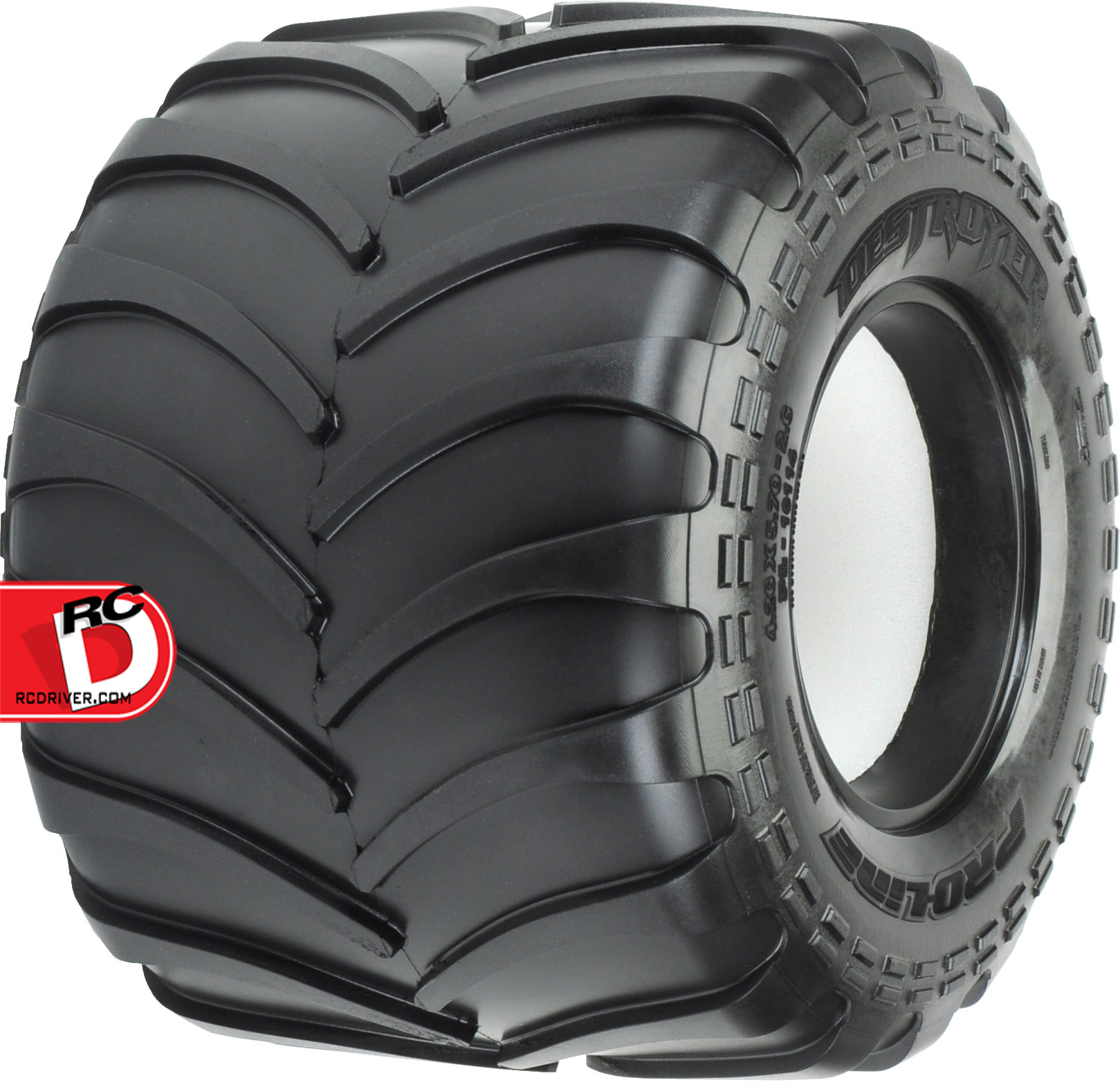 Pro-Line - Destroyer 2.6 M3 All Terrain Tires for the Clod Buster