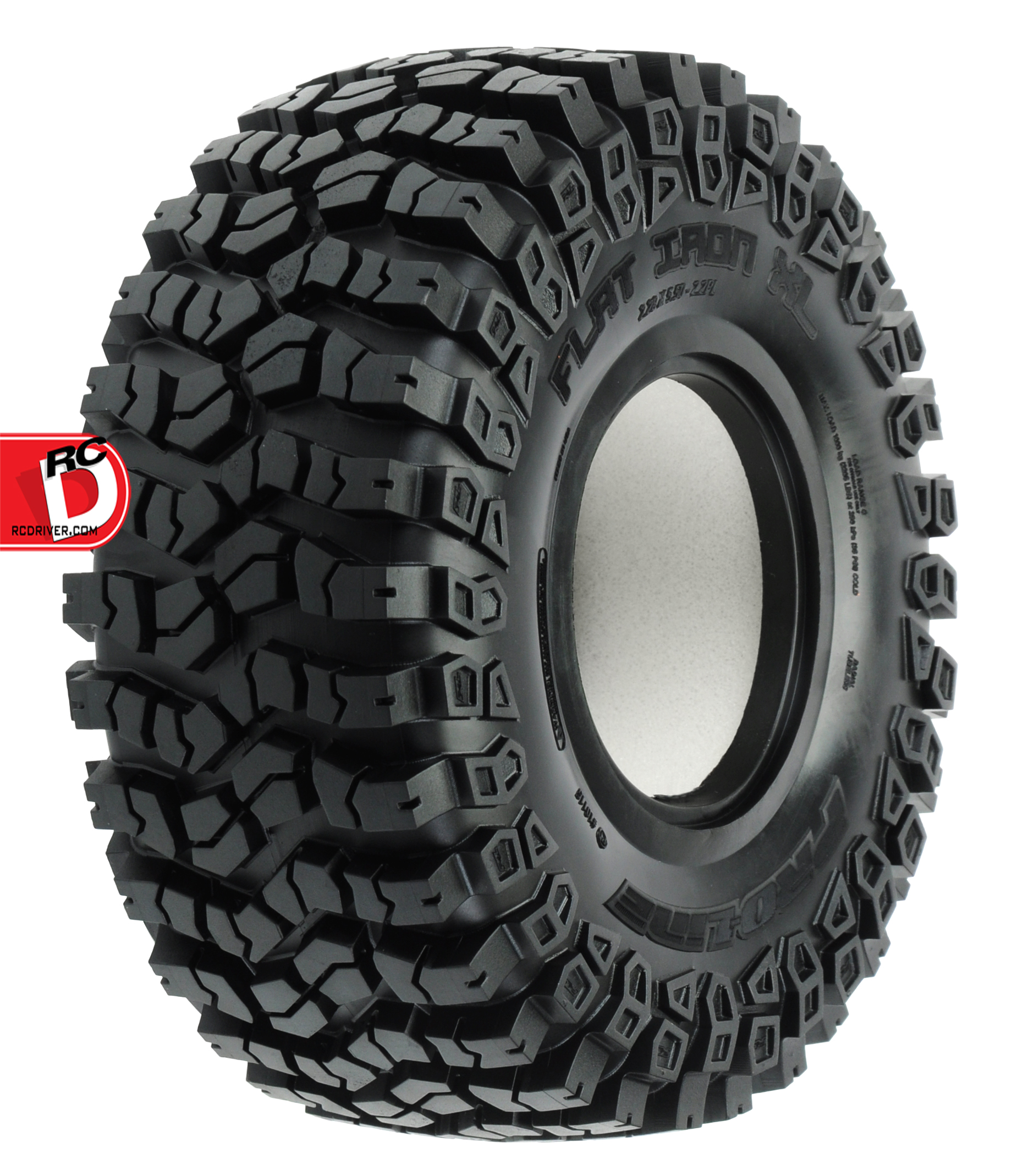 Pro-Line - Flat Iron XL 2.2 G8 Rock Terrain Truck Tires with Memory Foam