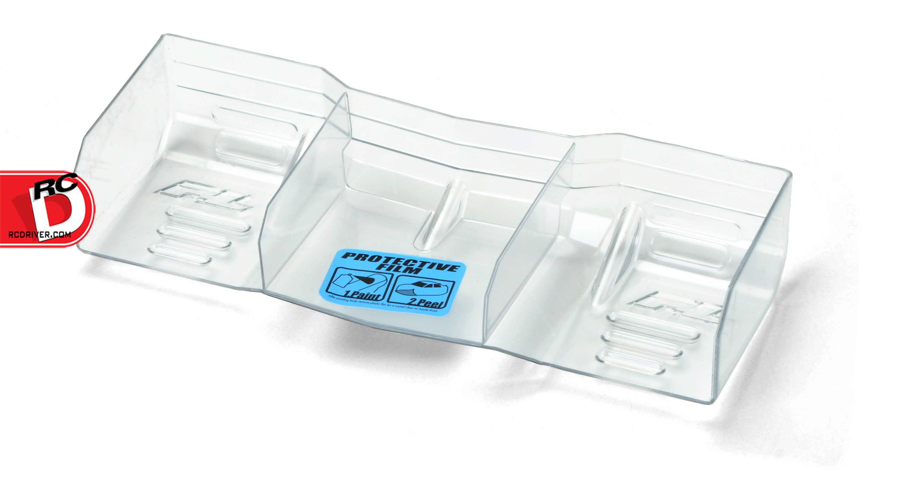 Pro-Line - Pre-Cut 1-8 Trifecta Lexan Clear Wing copy