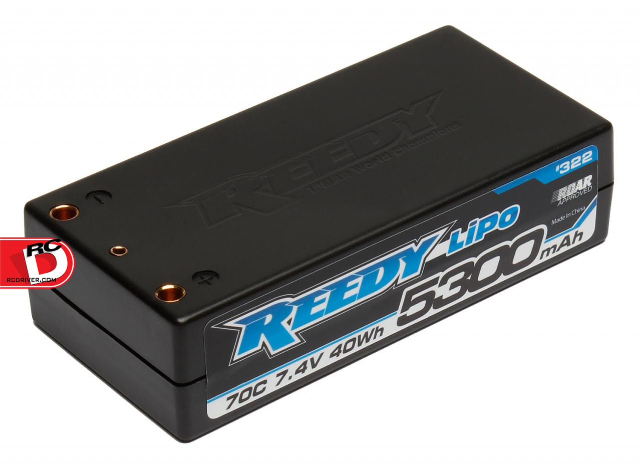 Team Associated - Reedy 5300mAh 70C 7.4V Shorty Competition LiPo Battery