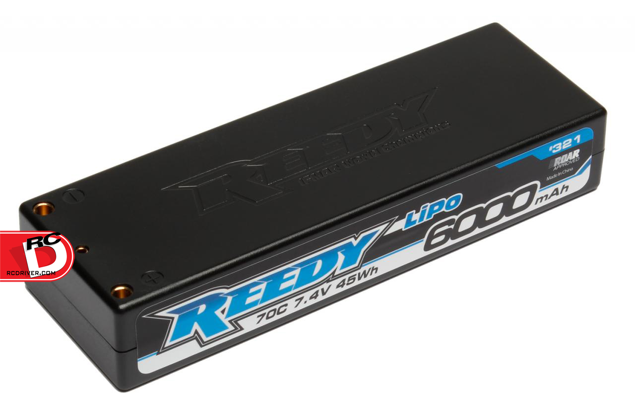 Team Associated - Reedy 6000mAh 70C 7.4V Competition LiPo Battery