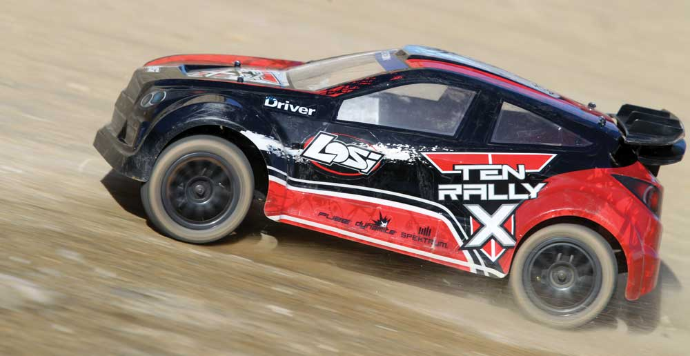 Review: Losi TEN Rally X