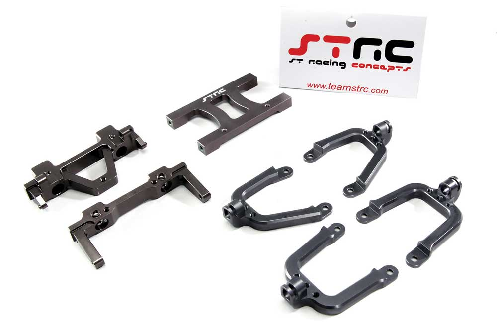 How To: Axial Jeep Rubicon and STRC Shock Mounts & More