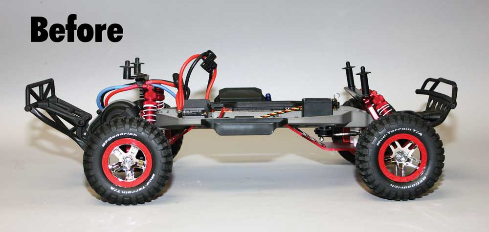 Review: Traxxas Low-CG Slash Chassis
