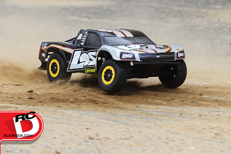 Losi XXX-sct with Spektrum AVC