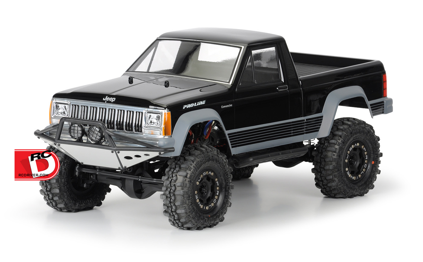 Pro-Line - Jeep Comanche Full Bed Clear Body copy